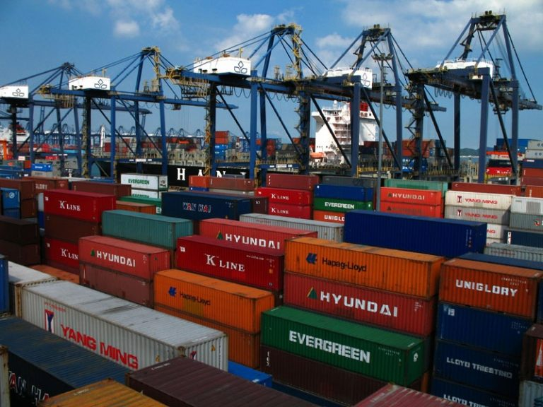 Vận chuyển container từ cảng TPHCM đến cảng Moradabad