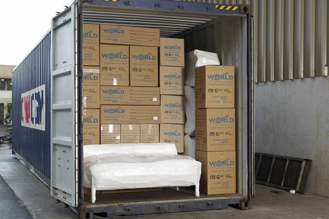 Vận chuyển hàng lẻ, nguyên container sang Uzbekistan theo đường biển đi từ Hồ Chí Minh (Cát Lái)