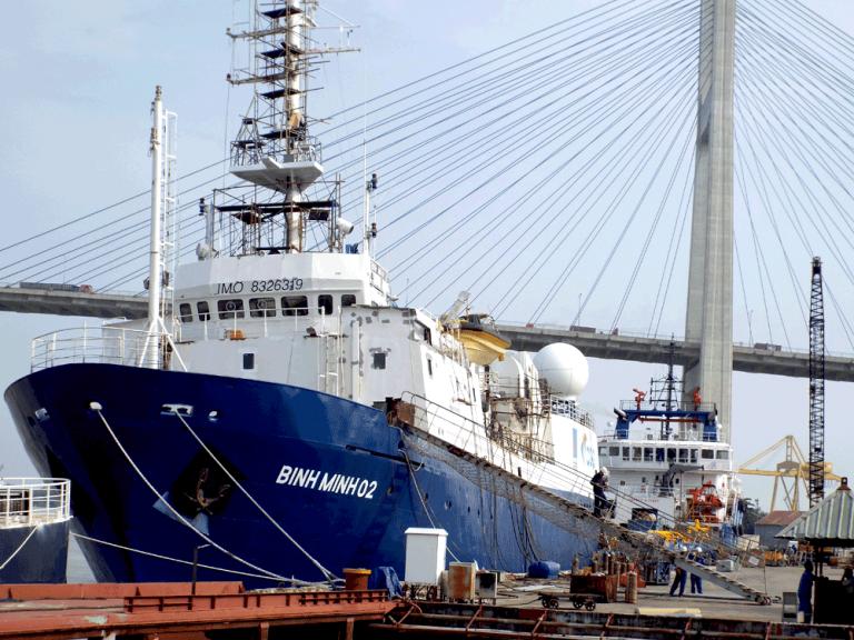 Vận chuyển hàng hóa tổng hợp đi từ cảng Đà Nẵng đến cảng Cái Lân