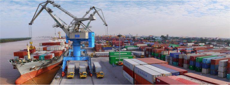 Vận chuyển hàng hóa đi từ Cát Lái đến cảng Cửa Cẩm
