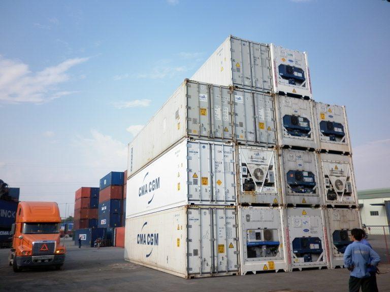 Dịch vụ cho thuê các loại container tại Cảng Thuận An (Thừa Thiên – Huế)
