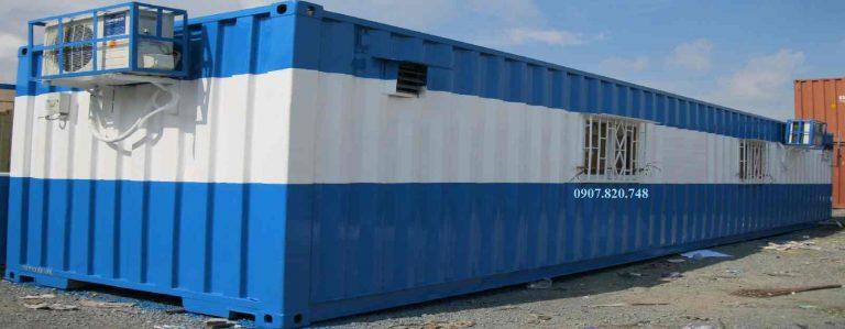 Dịch vụ cho thuê các loại container chất lượng tại Cảng Sa Kỳ