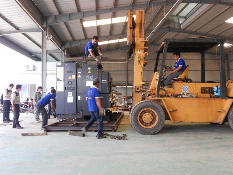 Dịch vụ xếp dỡ và nâng hạ đóng gói hàng hóa nhanh chóng tại Bà Rịa – Vũng Tàu