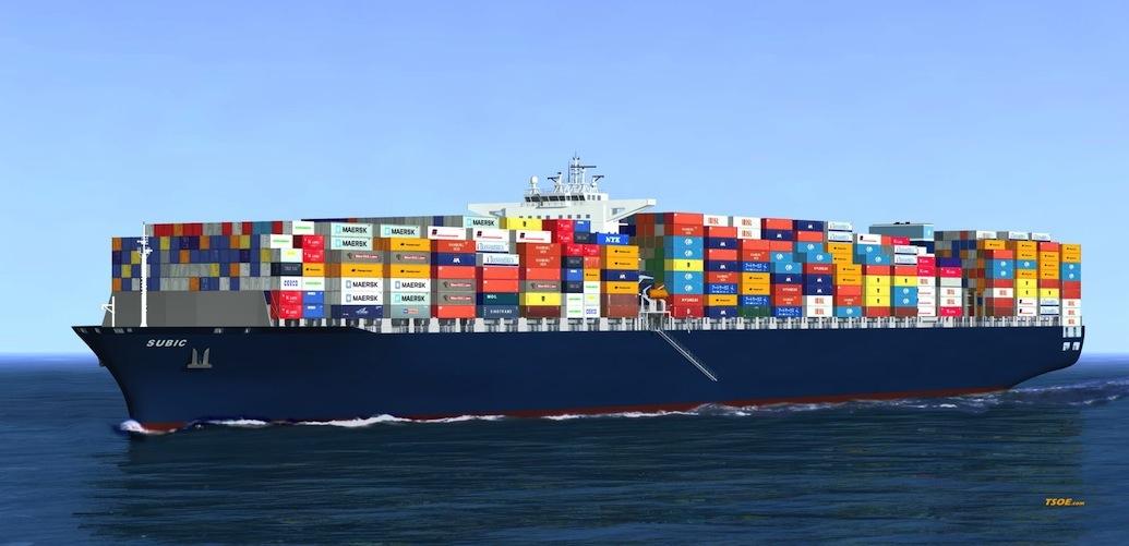 Vận chuyển hàng hóa đi Mexico bằng đường biển
