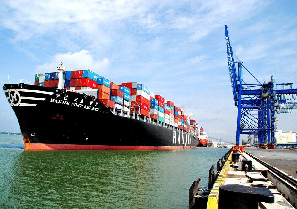 Tàu vận chuyển hàng đi Cảng Đại Liên