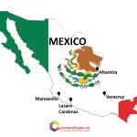 cảng biển ở Mexico
