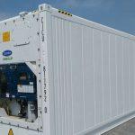 container lạnh dùng trong vận tải biển