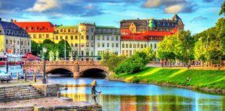 Vận chuyển đường biển từ Cần Thơ đi Thụy Điển