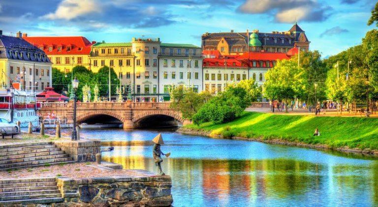 Vận chuyển đường biển từ Cần Thơ đi Thụy Điển chi phí thấp