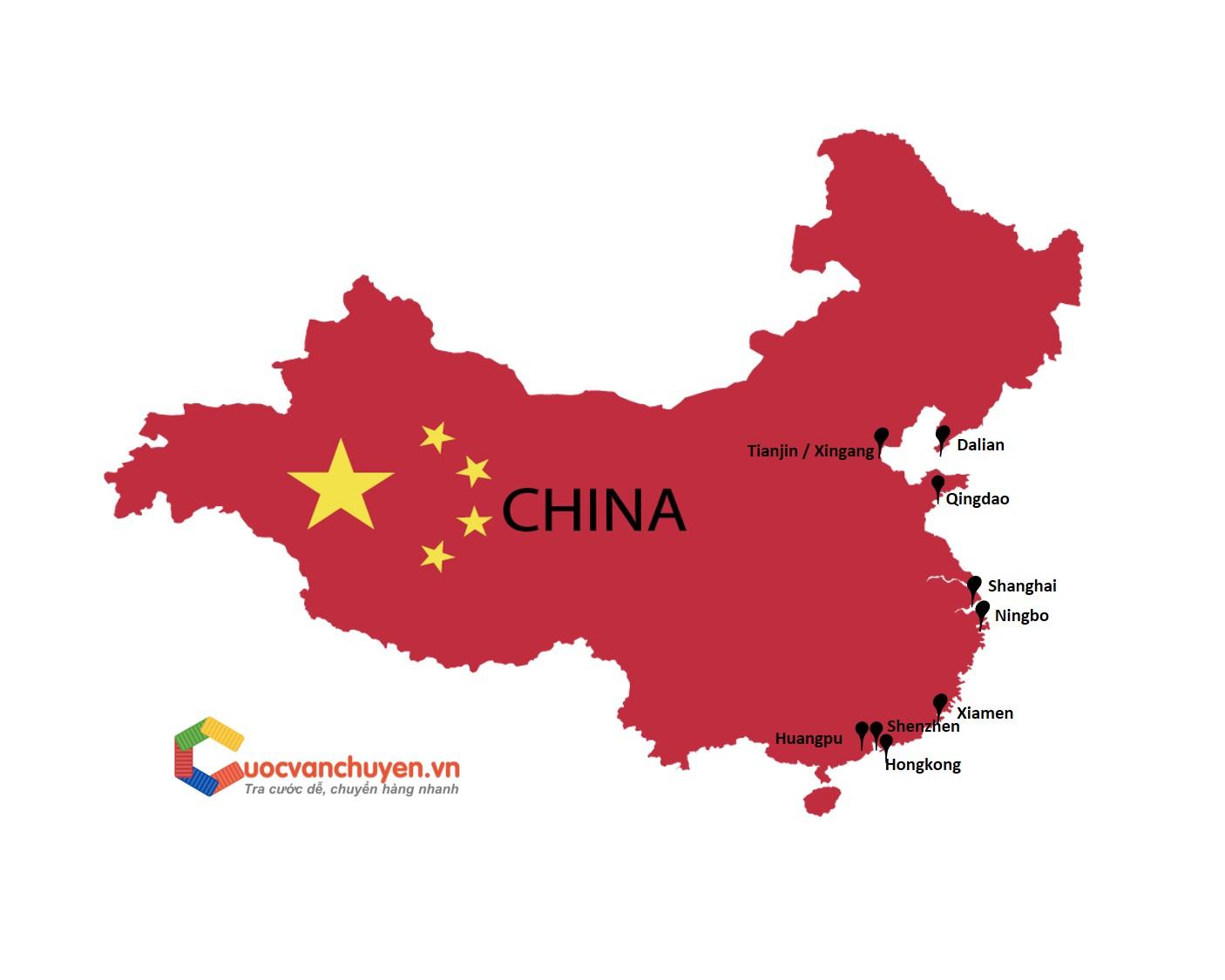 Các cảng biển tại Trung Quốc