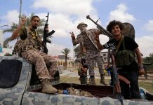 Chuyển phát nhanh đến Libya