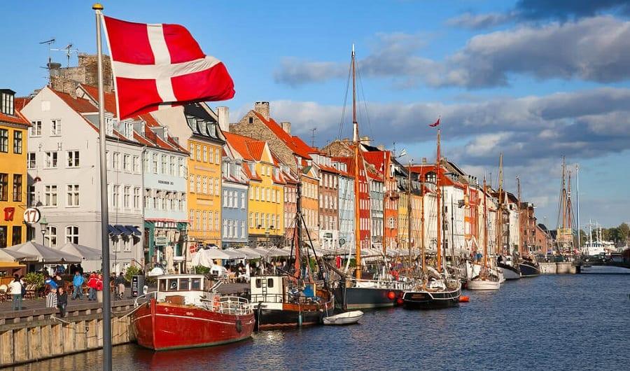Gom hàng lẻ đi Denmark