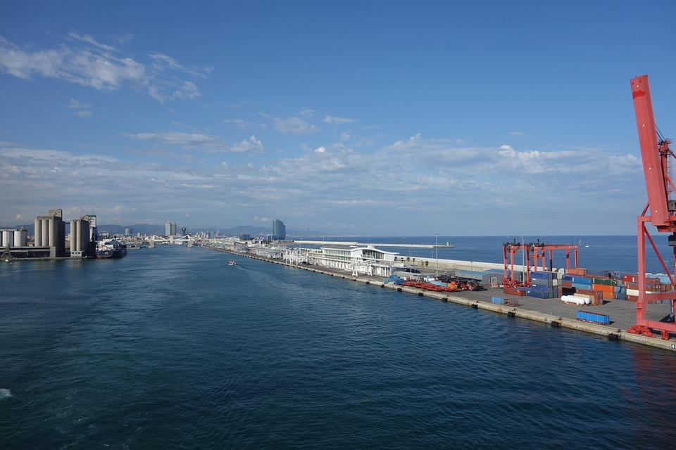 gửi hàng lẻ đi cảng Barcelona