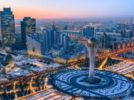 Gom hang le tu Can tho di Kazakhstan