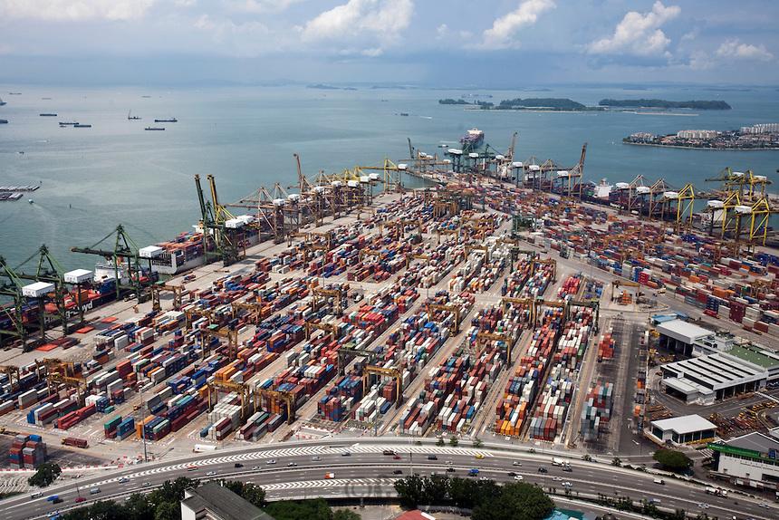 Vận chuyển hàng lẻ đi Singapore