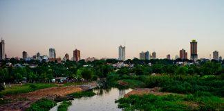 Vận tải biển hàng lẻ Cần Thơ đi Paraguay