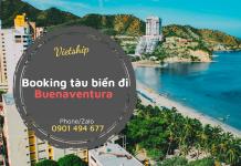 Booking tàu biển đi Buenaventura từ Cát Lái HCM giá tốt