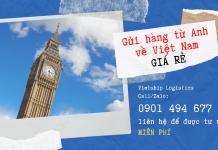 Liên hệ ngay với chúng tôi để được tư vấn MIỄN PHÍ về dịch vụ gửi hàng về từ Anh