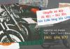 Vận chuyển xe máy từ Hà Nội vào Sài Gòn | Bảo hiểm hàng hóa 100%