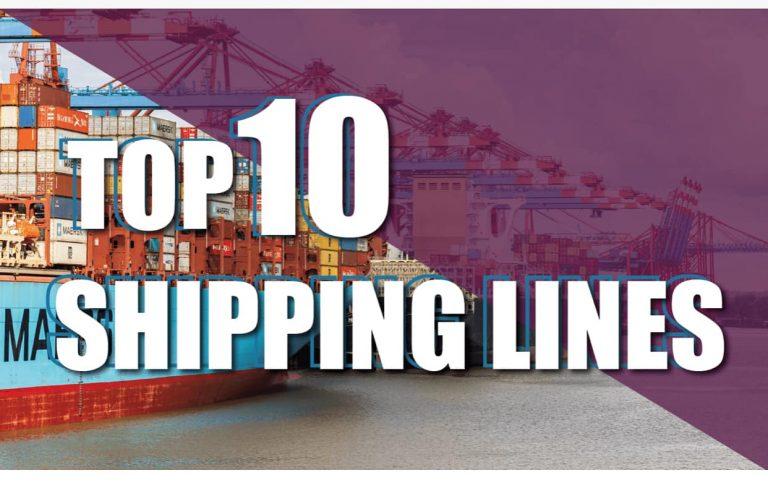 Top 10: Các hãng vận chuyển lớn nhất thế giới