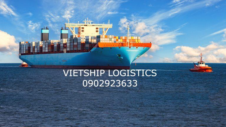 Dịch vụ gom hàng lẻ từ Sài Gòn đi cảng Thiên Tân – Trung Quốc giá rẻ